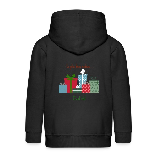 Le plus beau cadeau - Veste à capuche Premium Enfant