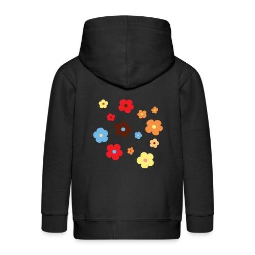 bloemmetjes - Kinderen Premium jas met capuchon