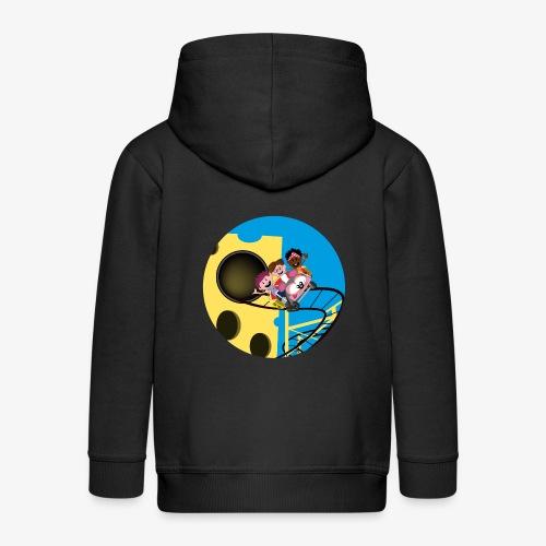 Themepark: Mousecoaster - Kinderen Premium jas met capuchon