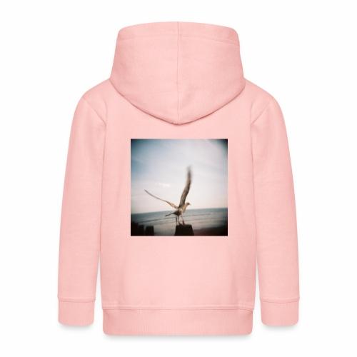 Original Artist design * Seagull - Kids' Premium Zip Hoodie