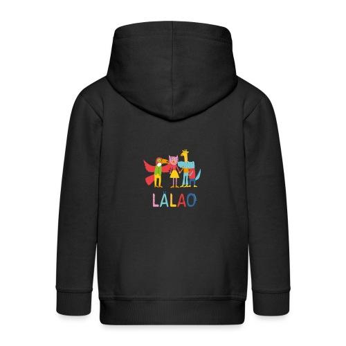 Lalao friends - Felpa con zip Premium per bambini