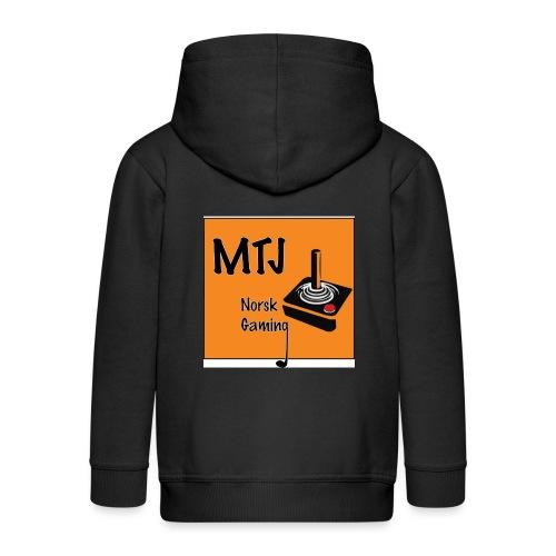 Mtj Logo - Premium Barne-hettejakke