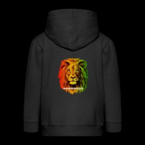 THE LION OF JUDAH - Kinder Premium Kapuzenjacke