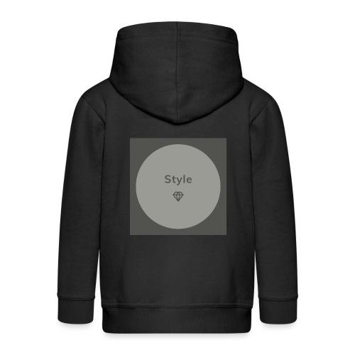 Style - Kinder Premium Kapuzenjacke