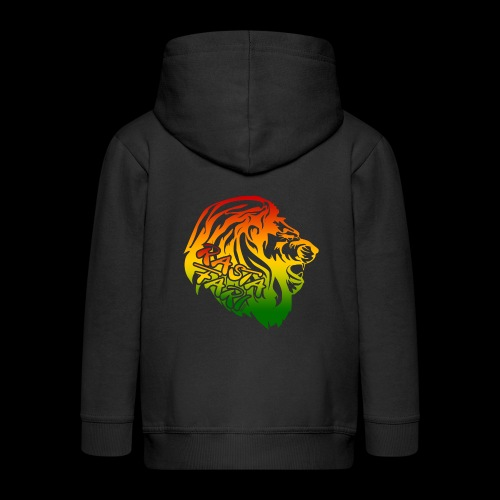 RASTA FARI LION - Kinder Premium Kapuzenjacke