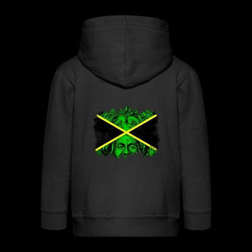 LION BOB JAMAICA - Kinder Premium Kapuzenjacke
