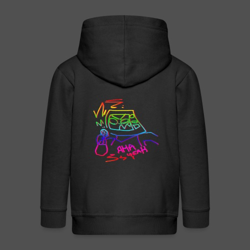 The Coolest Rap - Kids' Premium Zip Hoodie