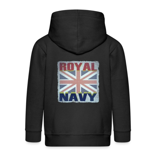 ROYAL NAVY - Kids' Premium Zip Hoodie