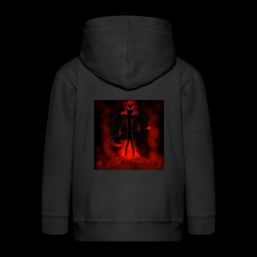 Corrupted Nightcrawler - Kids' Premium Zip Hoodie