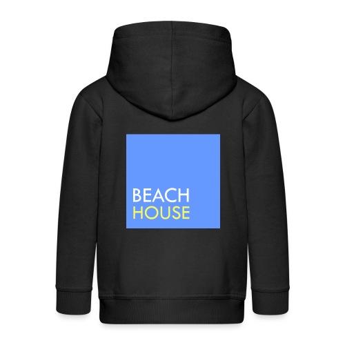 Blue Summer Logo - Kids' Premium Hooded Jacket