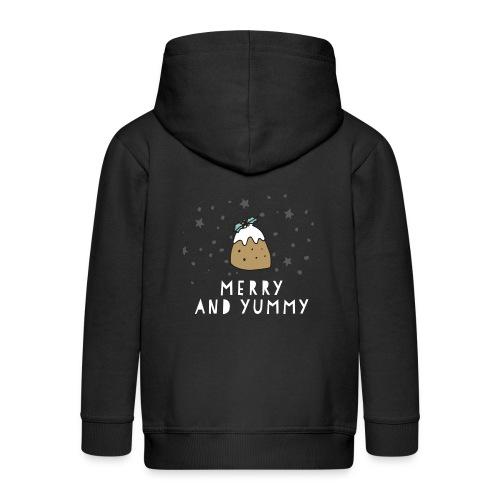 Merry and Yummy - Kinder Premium Kapuzenjacke