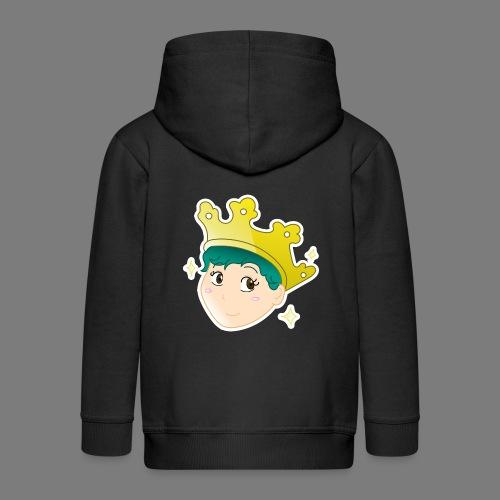 Wear a Crown - Kids' Premium Hooded Jacket