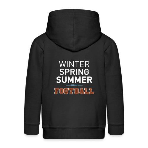 4 Seasons - American Football - Kinder Premium Kapuzenjacke