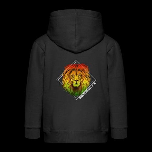 LION HEAD - UNDERGROUNDSOUNDSYSTEM - Kinder Premium Kapuzenjacke