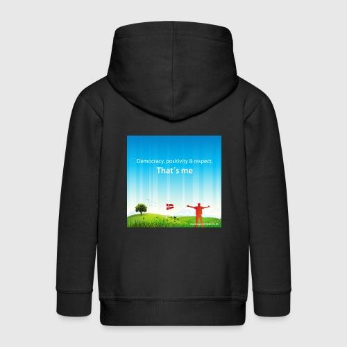 Rolling hills tshirt - Premium hættejakke til børn