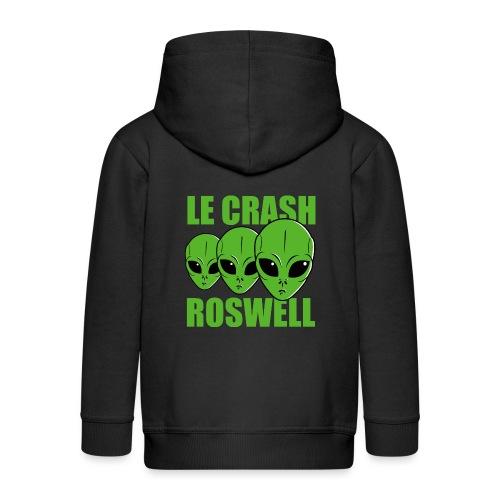 Le Crash Roswell - Veste à capuche Premium Enfant