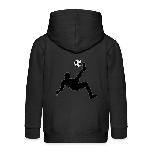 Fussballer - Kinder Premium Kapuzenjacke