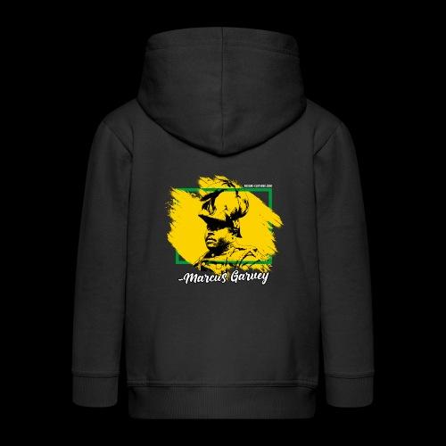 MARCUS GARVEY by Reggae-Clothing.com - Kinder Premium Kapuzenjacke