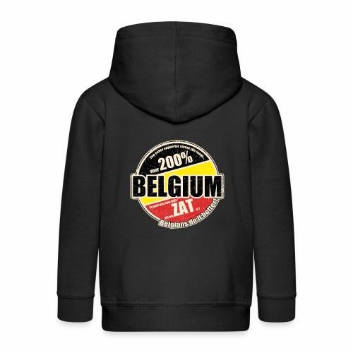 Belgium Vintage - Kinderen Premium jas met capuchon
