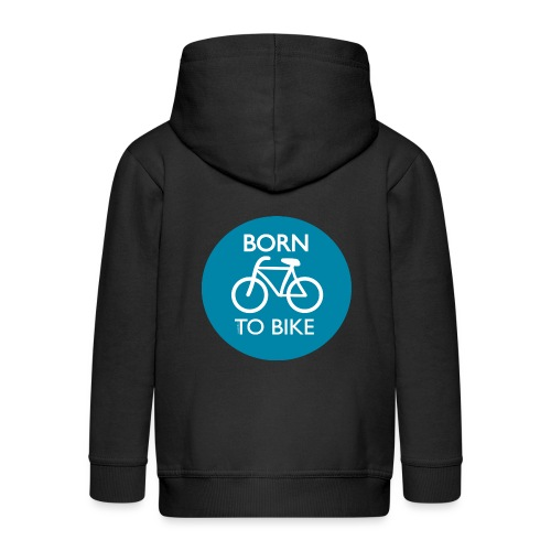 Born To Bike - Kinder Premium Kapuzenjacke