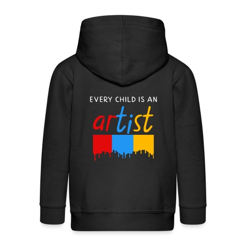 Every child is an artist - Kinderen Premium jas met capuchon