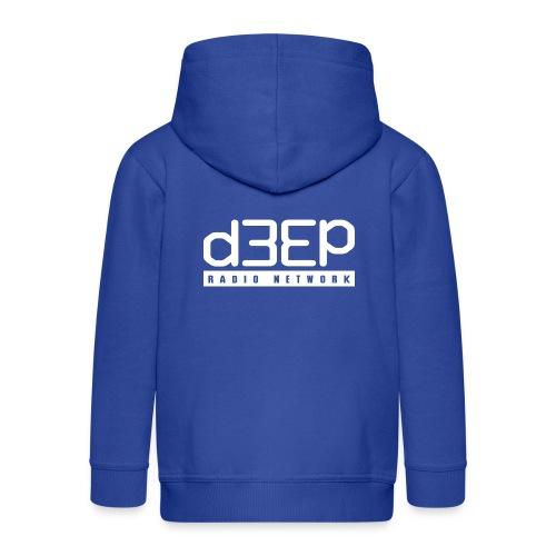 d3ep full white png - Kids' Premium Zip Hoodie