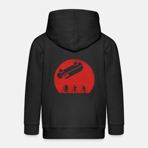 Stranger Things Eleven 80's Design - Kids' Premium Zip Hoodie