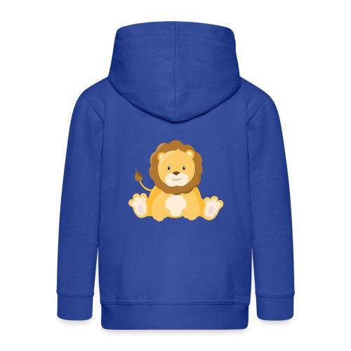 SAFARI Löwe - Kinder Premium Kapuzenjacke