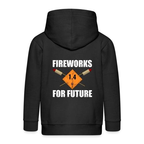 Fireworks for Future Silvester Pyro - Kinder Premium Kapuzenjacke