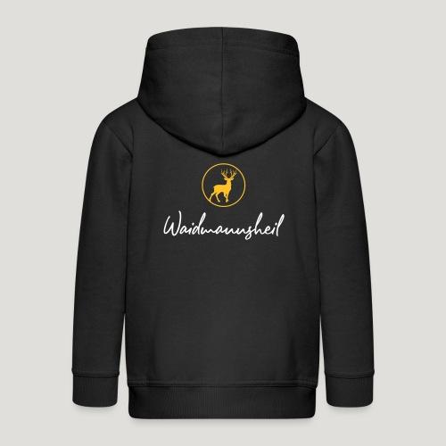 Waidmannsheil, ihr Jäger! Jäger Shirt Jaeger Shirt - Kinder Premium Kapuzenjacke
