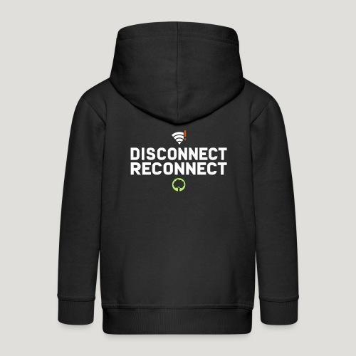 Disconnect Reconnect - Dein Wlan im Wald - Kinder Premium Kapuzenjacke