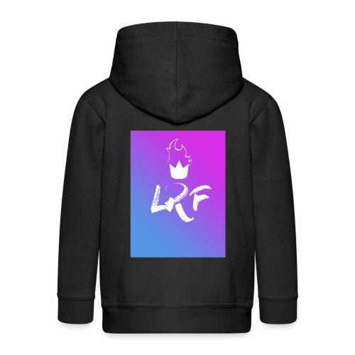 LRF rectangle - Veste à capuche Premium Enfant