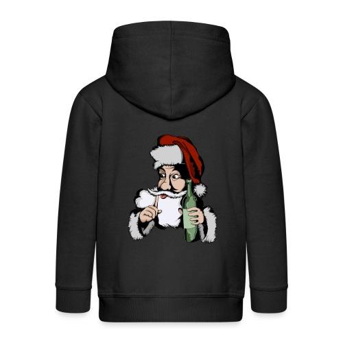 Père Noël Arrive - Santa is coming - Veste à capuche Premium Enfant