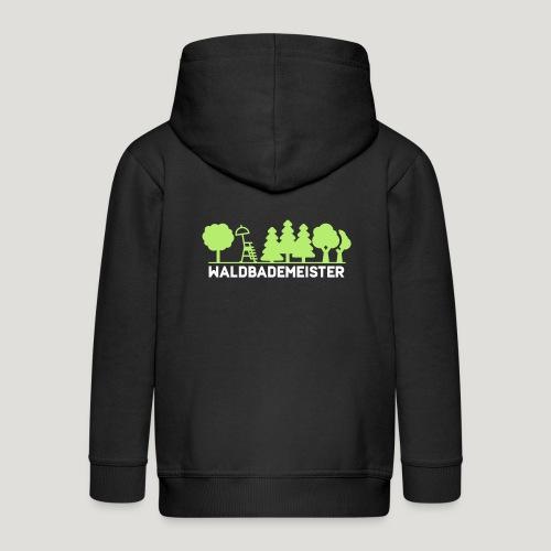 Waldbademeister fürs Waldbaden und Waldbad - Kinder Premium Kapuzenjacke