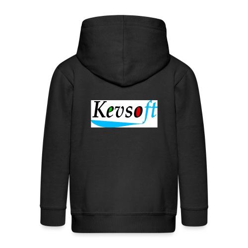 Kevsoft - Kids' Premium Zip Hoodie