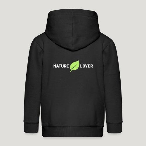 Nature Lover - Kinder Premium Kapuzenjacke