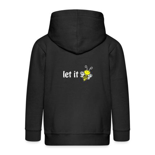 let it bee - Kinder Premium Kapuzenjacke