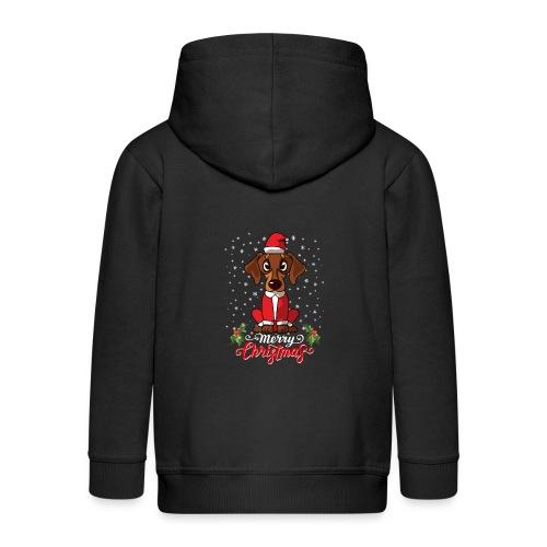 Dachshund Custome - Kids' Premium Zip Hoodie