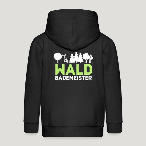 Waldbademeister für das Waldbaden im Waldbad - Kinder Premium Kapuzenjacke