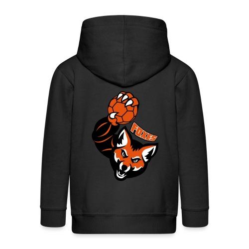 Foxes handball - Veste à capuche Premium Enfant