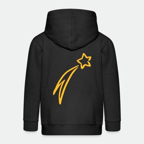 Sternschnuppe drawing - Kids' Premium Hooded Jacket