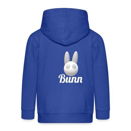 White Bunn - Kids' Premium Zip Hoodie