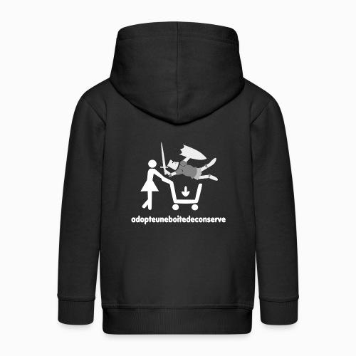 Tee Shirt Homme Bicolore adopteuneboitedeconserve - Veste à capuche Premium Enfant