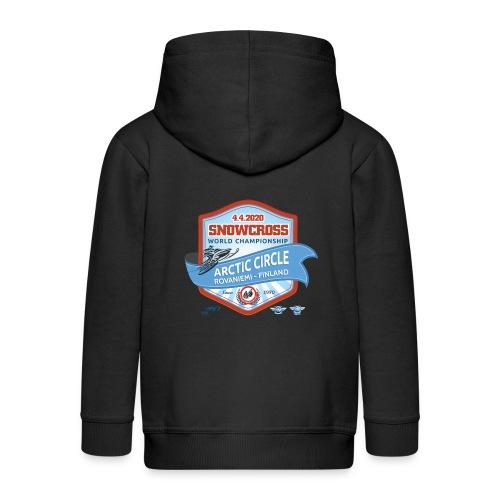 MM Snowcross 2020 virallinen fanituote - Lasten premium hupparitakki