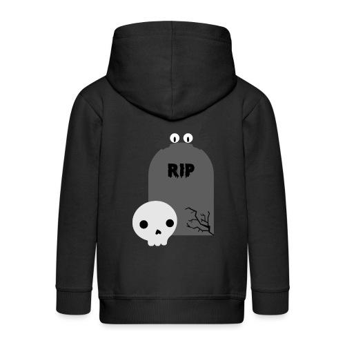 Dark But Cute - Kids' Premium Zip Hoodie