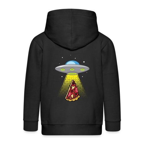 UFO Pizza Abduction - Veste à capuche Premium Enfant