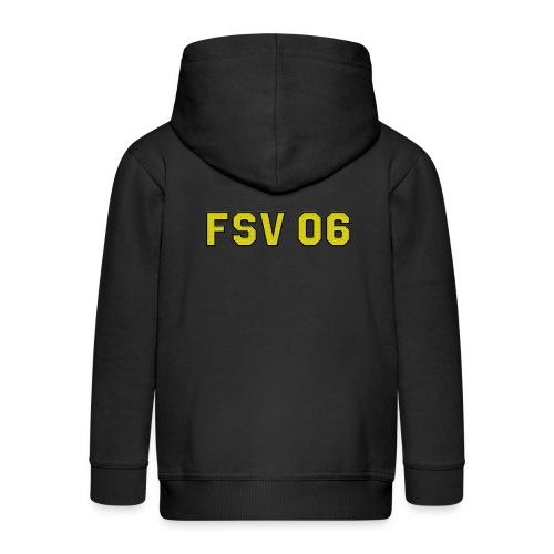Hildburghausen - FSV 06 Stick Optik-(Logo klein) - Kinder Premium Kapuzenjacke