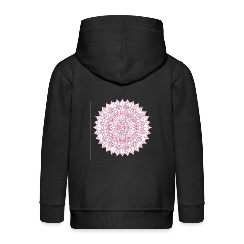 Mandala - Kids' Premium Zip Hoodie
