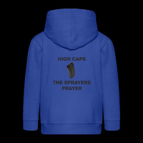 Sprayers Prayer - Kinderen Premium jas met capuchon