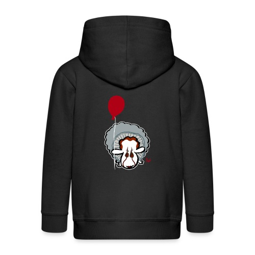 Evil Clown Sheep from IT - Kids' Premium Hooded Jacket